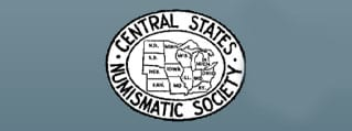 central states numismatic society show logo
